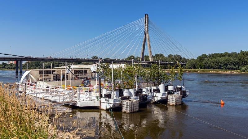 A ponte de Swietokrzyski imagens de stock