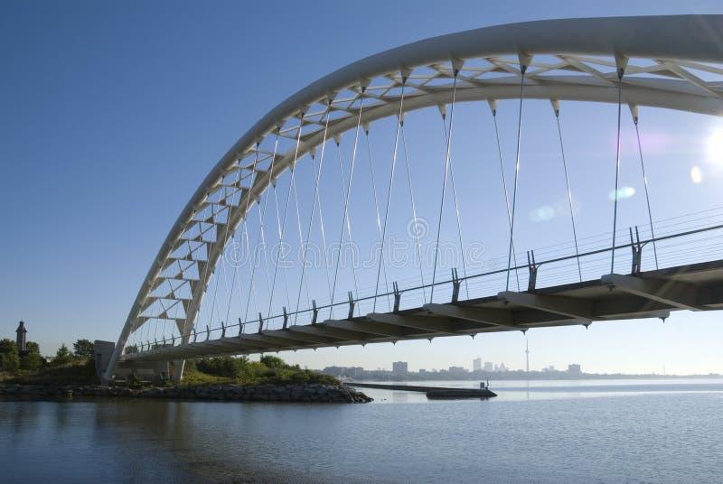 Ponte de Toronto Humber fotos de stock royalty free