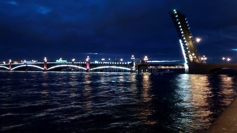 Ponte de Troitskiy imagem de stock