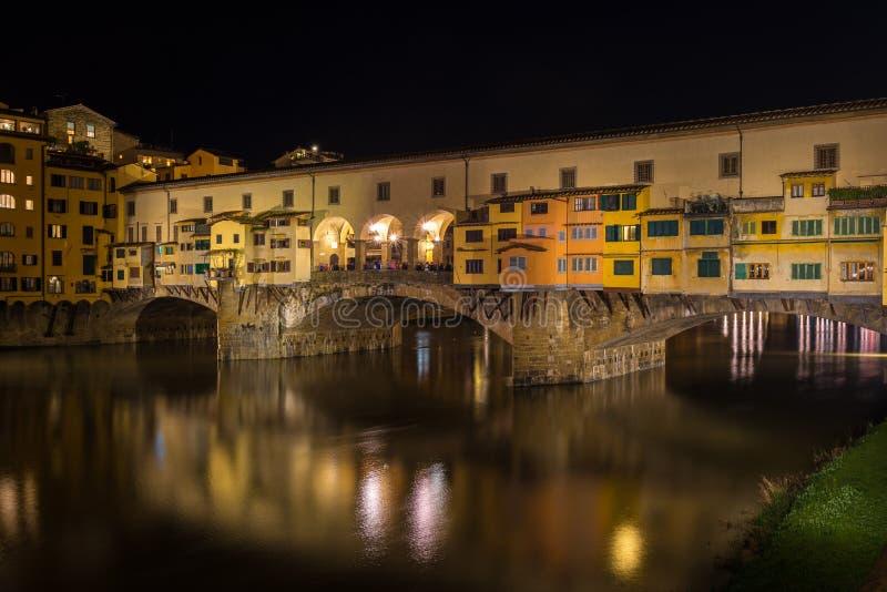 Ponte de Ponte Vecchio, Florença, Itália fotos de stock