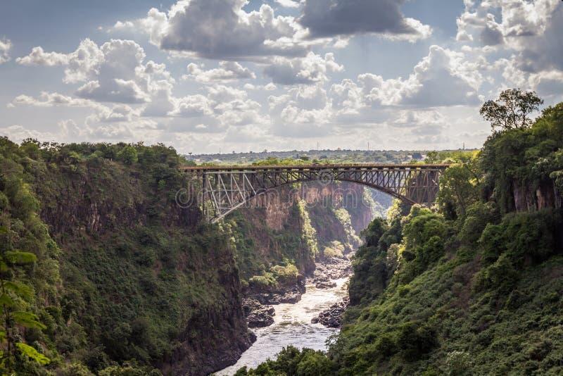 Ponte de Victoria Falls foto de stock royalty free