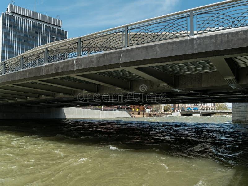 Ponte de Virginia Street, Reno, Nevada foto de stock