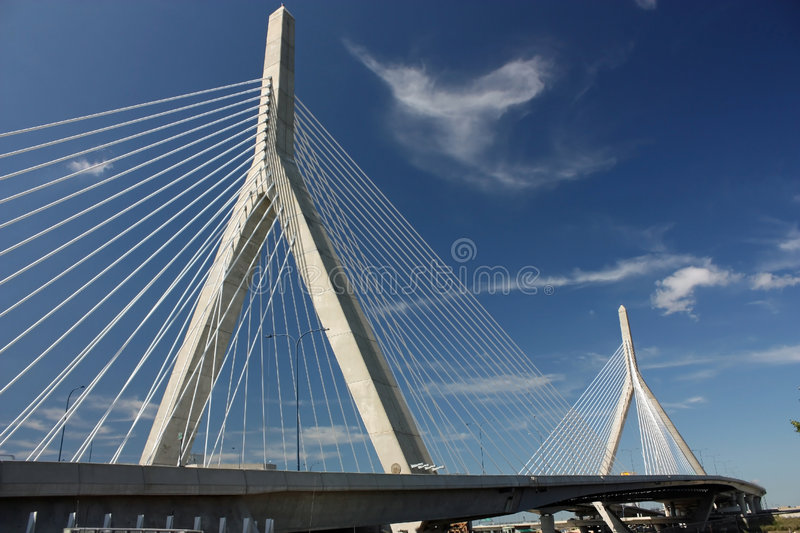 Ponte De Zakim Fotos de Stock Royalty Free