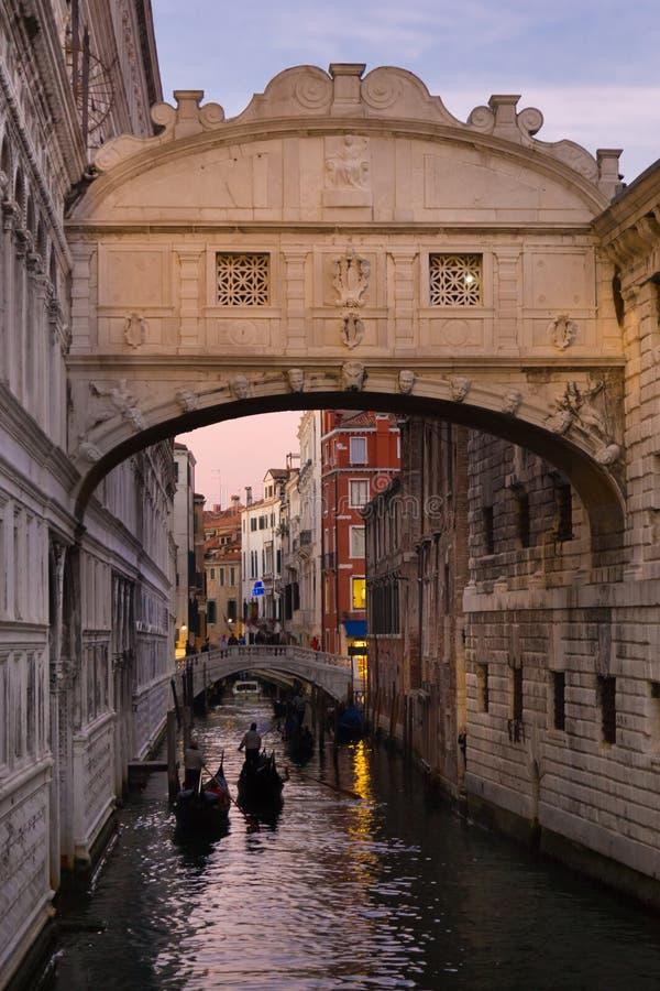 Ponte dei sospiri, Venezia, Italia immagine stock