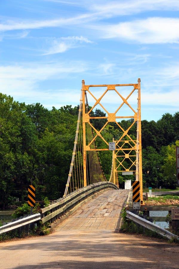 Ponte del castoro sopra il fiume White fotografia stock