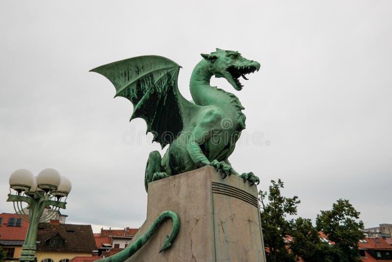 Ponte del drago da Transferrina fotografia stock libera da diritti