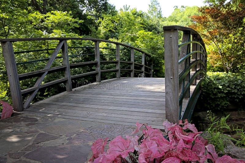 Ponte del giardino fotografie stock