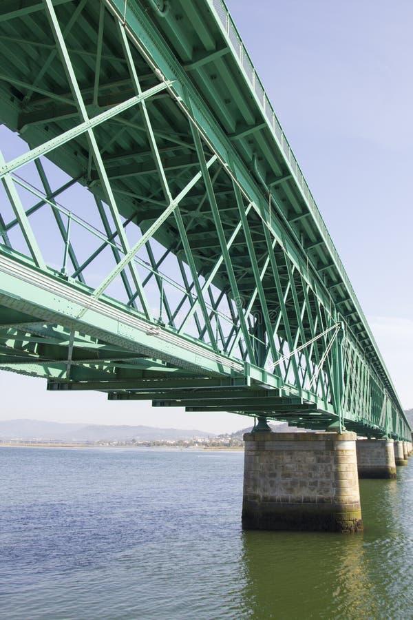 Ponte del metallo fotografia stock