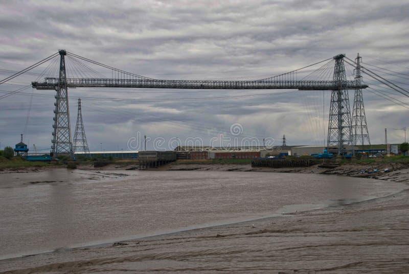 Ponte del trasportatore di Newport immagine stock libera da diritti