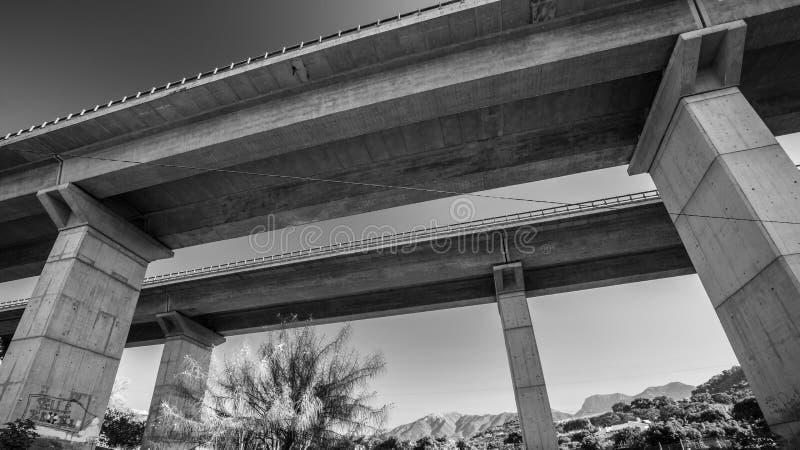 Ponte dell'autostrada fotografia stock libera da diritti