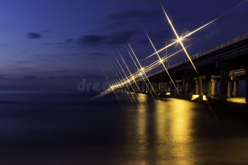 Ponte della baia di Chesapeake immagini stock libere da diritti