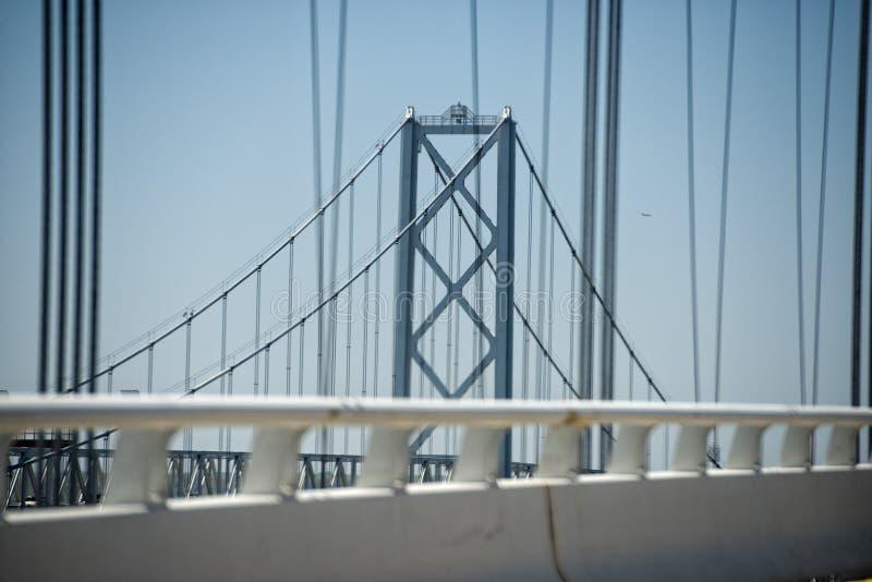 Ponte della baia di Maryland immagini stock libere da diritti