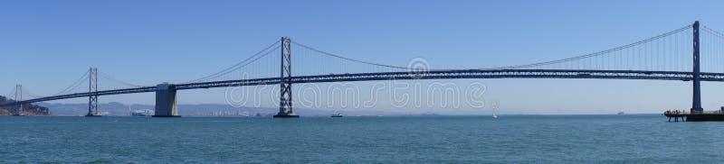 Ponte della baia a San Francisco ad Oakland fotografia stock libera da diritti