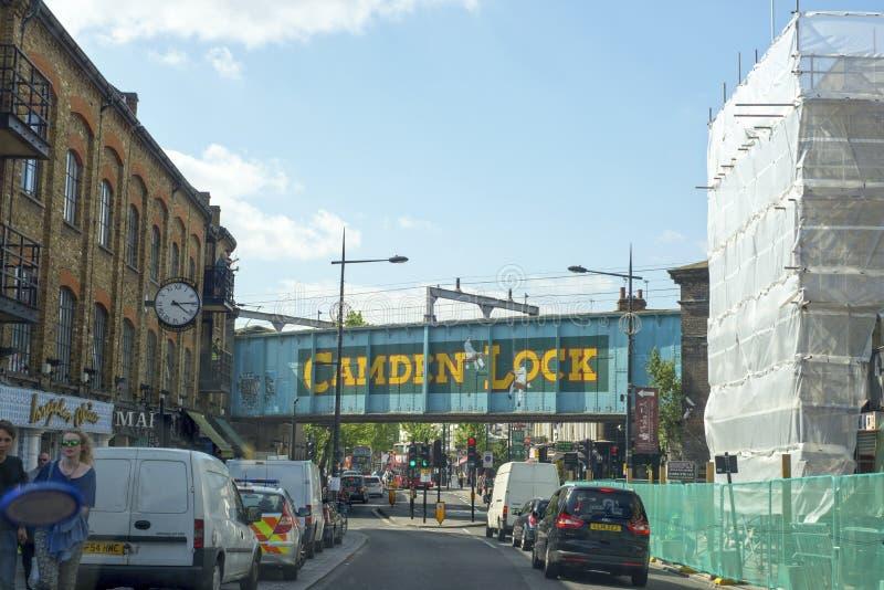 Ponte della città di Camden fotografia stock