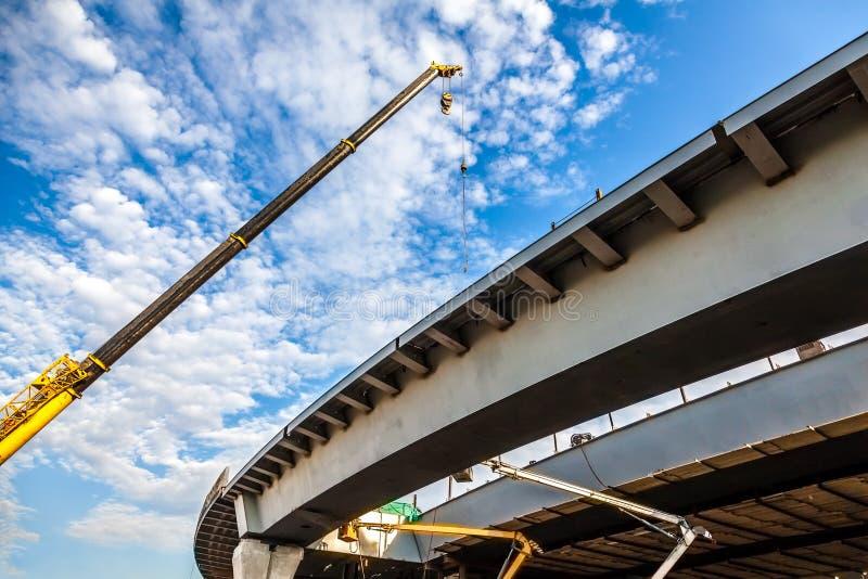 Ponte della costruzione fotografia stock libera da diritti