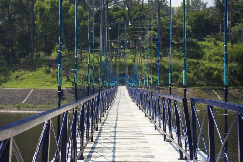Ponte della diga di Selorejo immagine stock libera da diritti