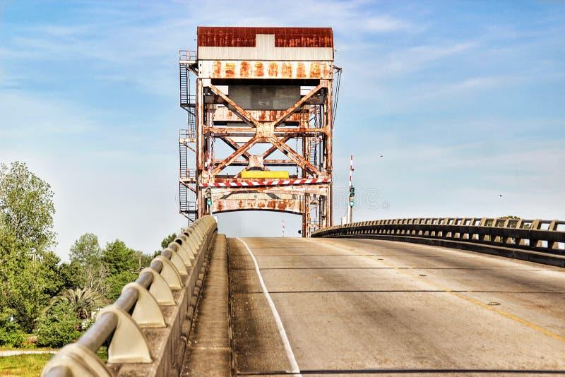 Ponte della Luisiana fotografia stock libera da diritti