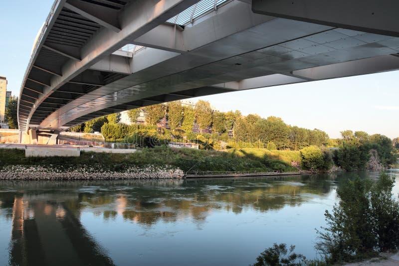 Ponte-della Musica in Rom lizenzfreie stockfotografie