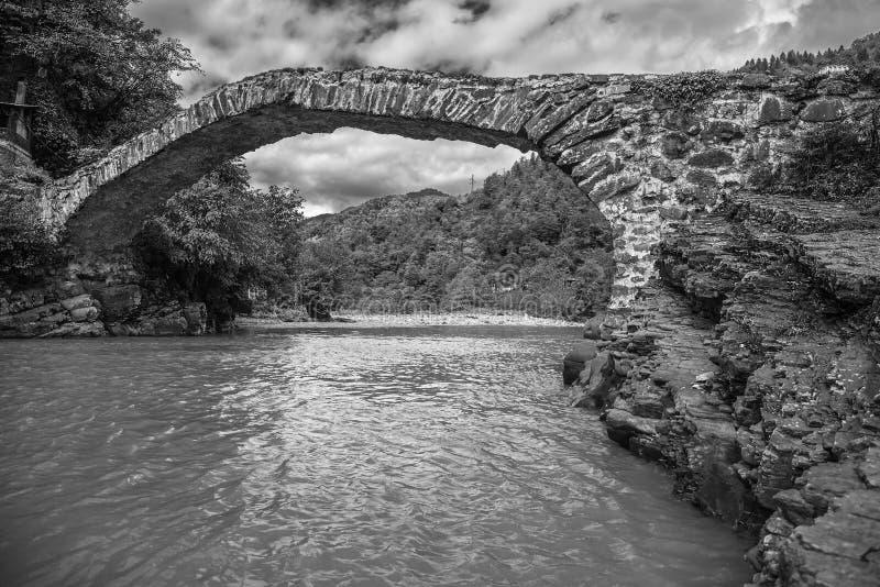 Ponte della regina Tamara's fotografia stock