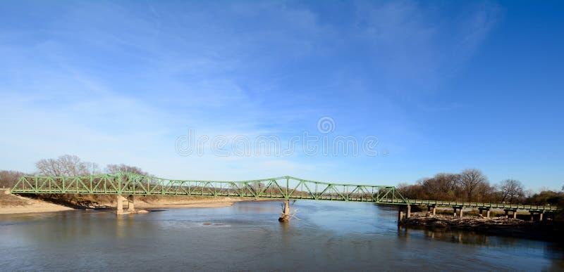 Ponte della st Francisville immagine stock