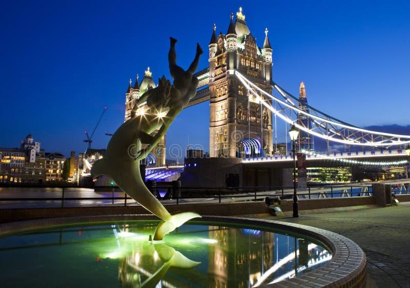 Ponte della torre a Londra immagini stock libere da diritti