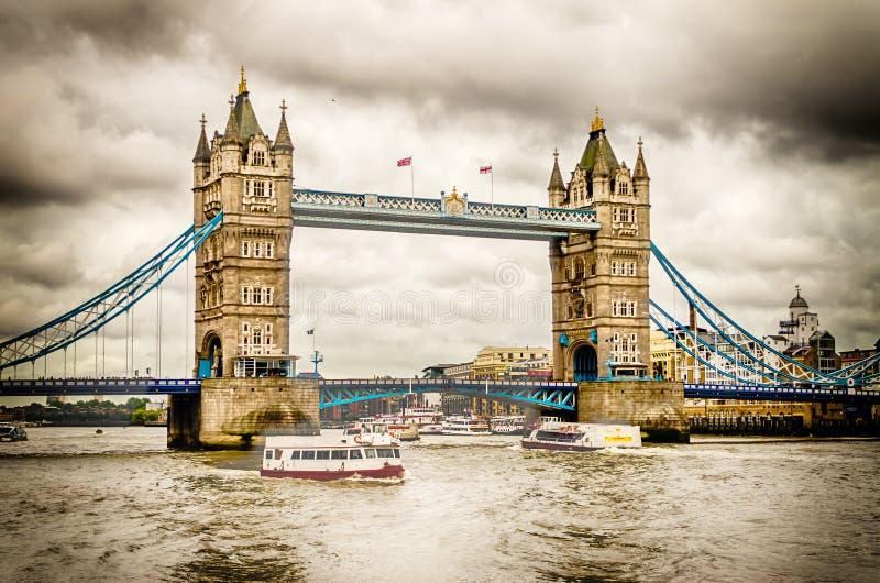 Ponte della torre, Londra immagine stock libera da diritti