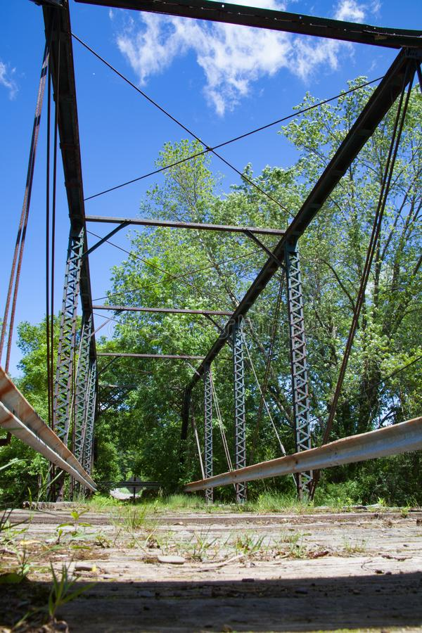 Ponte Derelict Fechada foto de stock