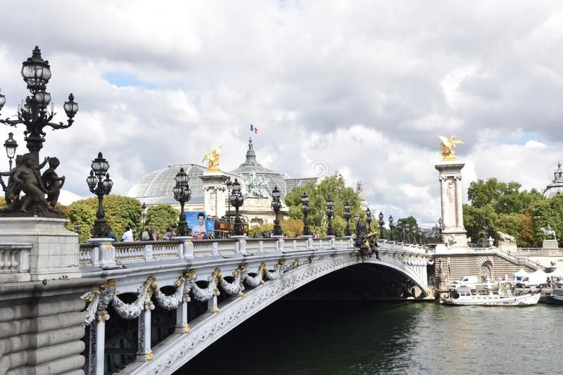 Ponte di ALexander fotografie stock libere da diritti