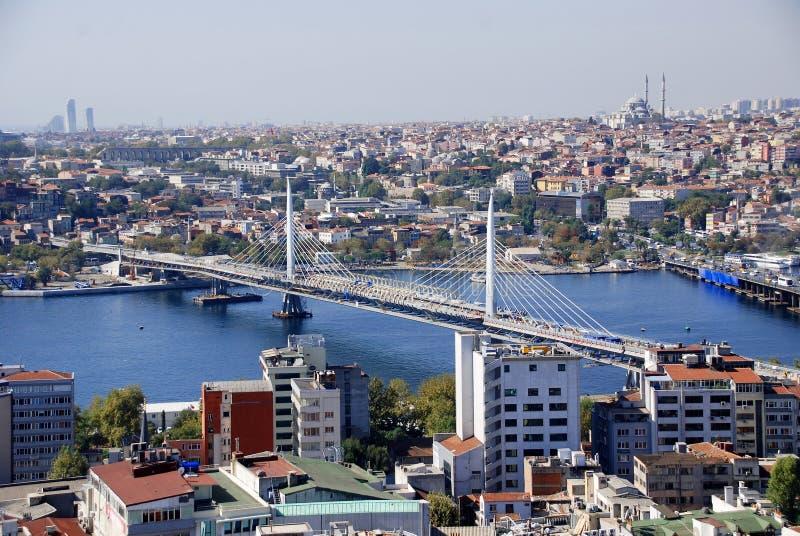 Ponte di Ataturk fotografia stock libera da diritti