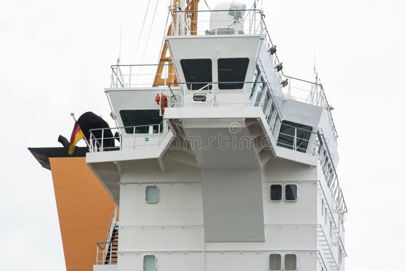 Ponte di barca immagini stock libere da diritti