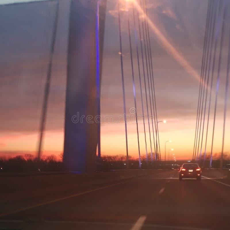 Ponte di Bayview immagini stock libere da diritti