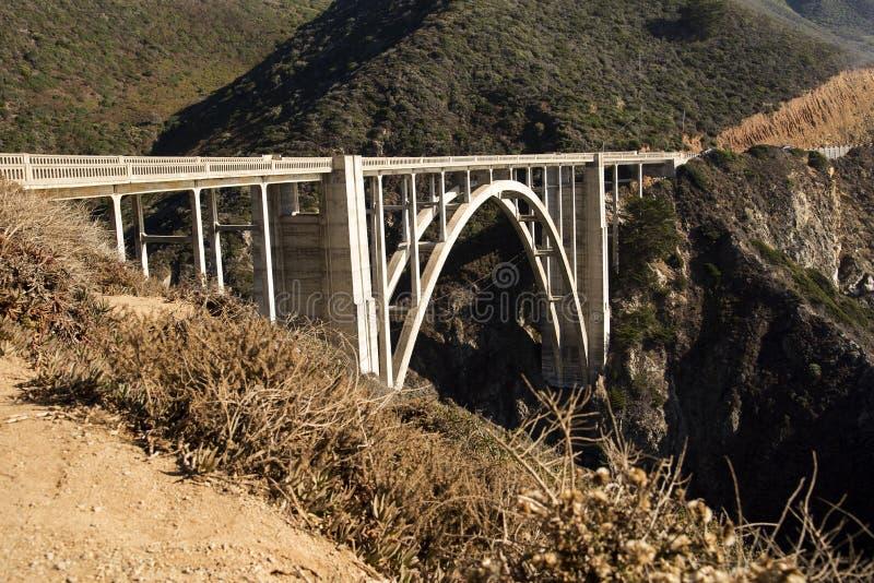 Ponte di Bixby fotografia stock