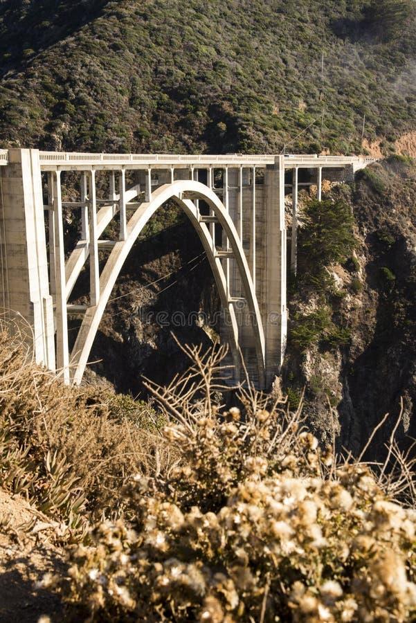 Ponte di Bixby fotografie stock