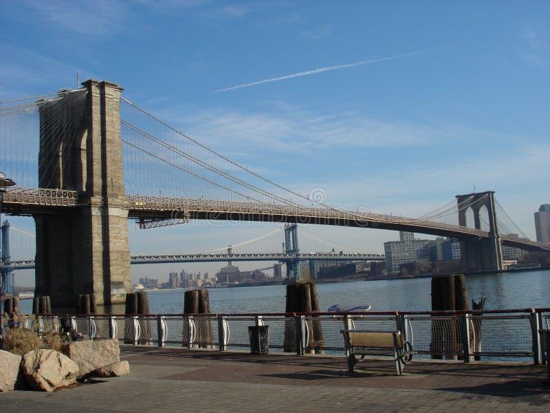Ponte di Brooklyn immagine stock
