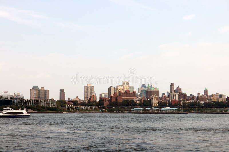 Ponte di Brooklyn in New York - vista aerea immagini stock libere da diritti