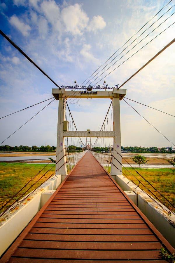 Ponte di camminata immagini stock