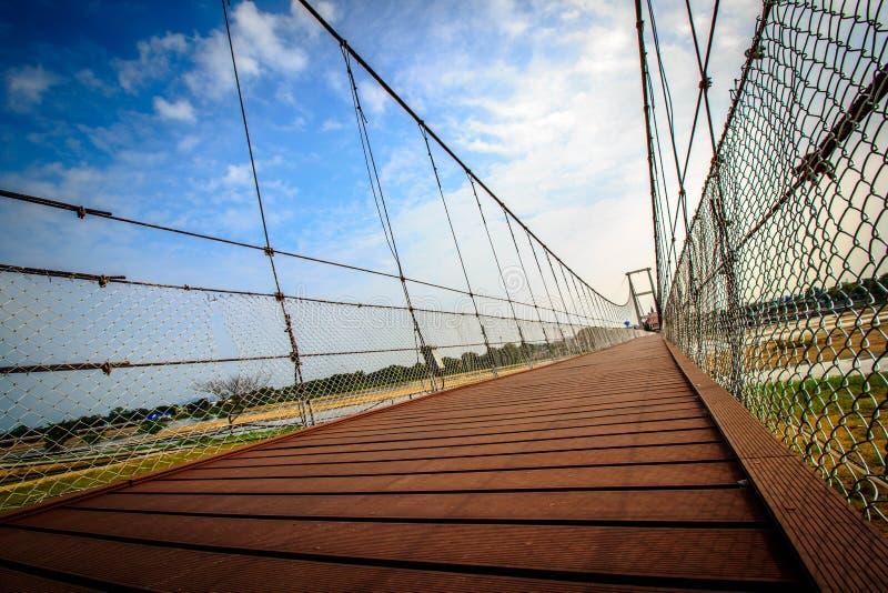 Ponte di camminata immagine stock