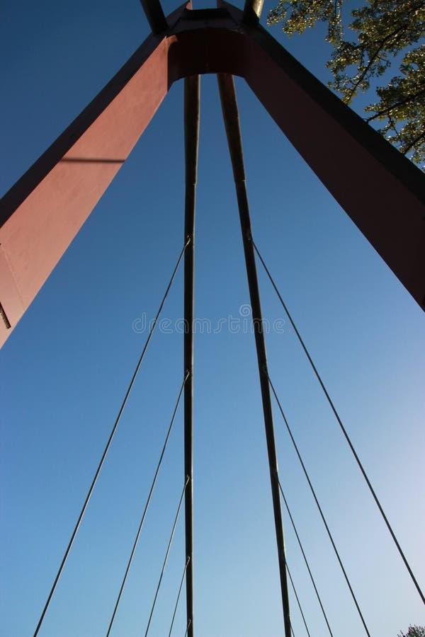 Ponte di camminata fotografia stock libera da diritti