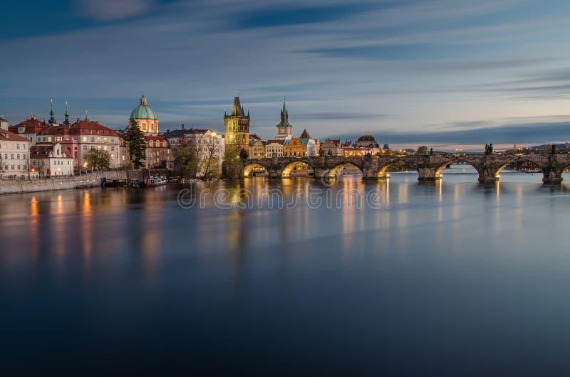 Ponte di Charles, Praga, repubblica Ceca fotografie stock