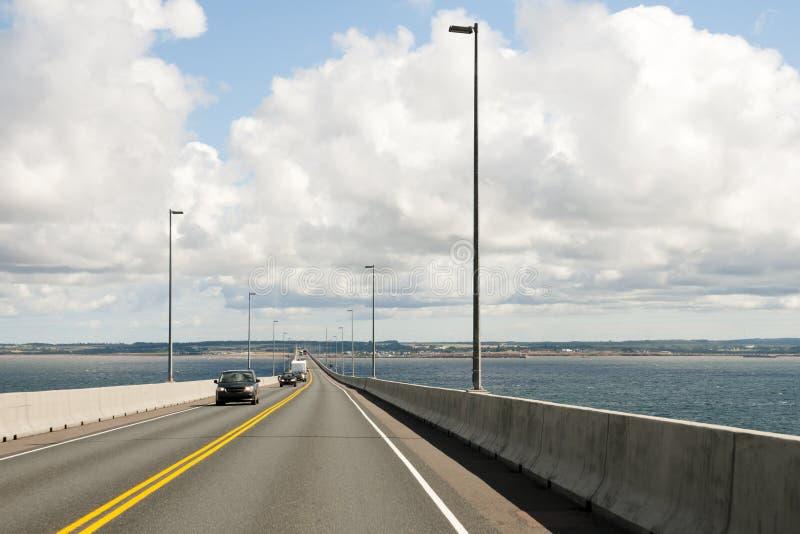 Ponte di confederazione - Canada fotografie stock libere da diritti