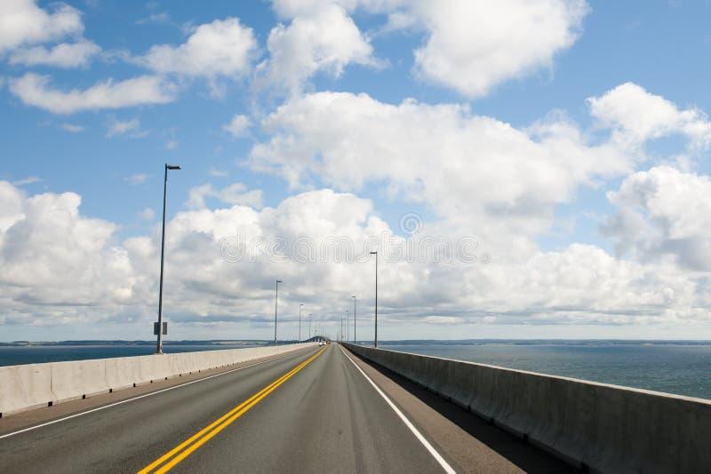 Ponte di confederazione - Canada immagini stock libere da diritti