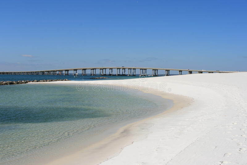 Ponte di Destin Florida fotografia stock