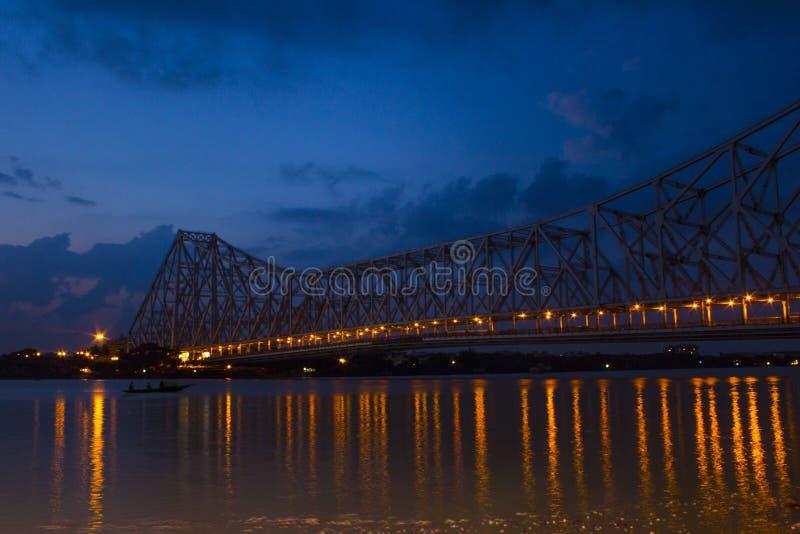 Ponte di Hoogly immagine stock