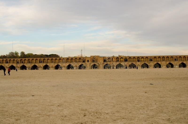 Ponte di Ispahan immagini stock