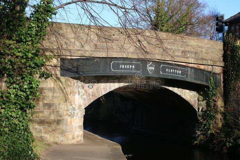 Ponte di Joseph Clayton, canale di Lancaster, Lancaster fotografie stock libere da diritti
