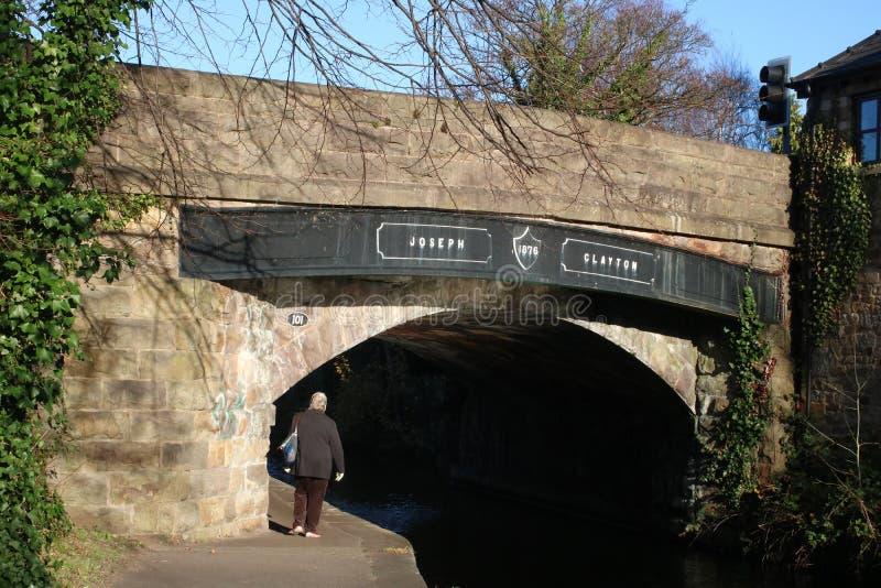 Ponte di Joseph Clayton, canale di Lancaster, Lancaster immagini stock