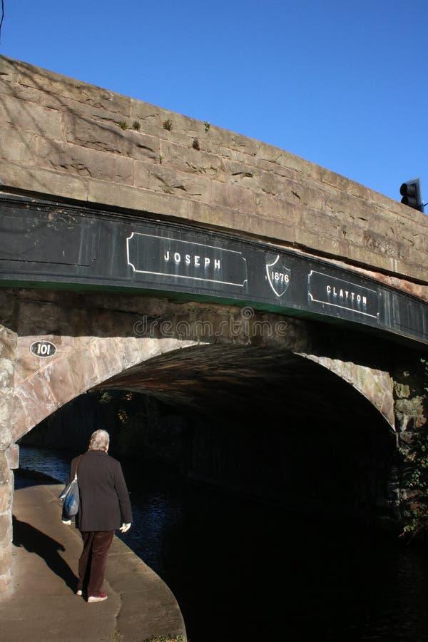Ponte di Joseph Clayton, canale di Lancaster, Lancaster fotografia stock