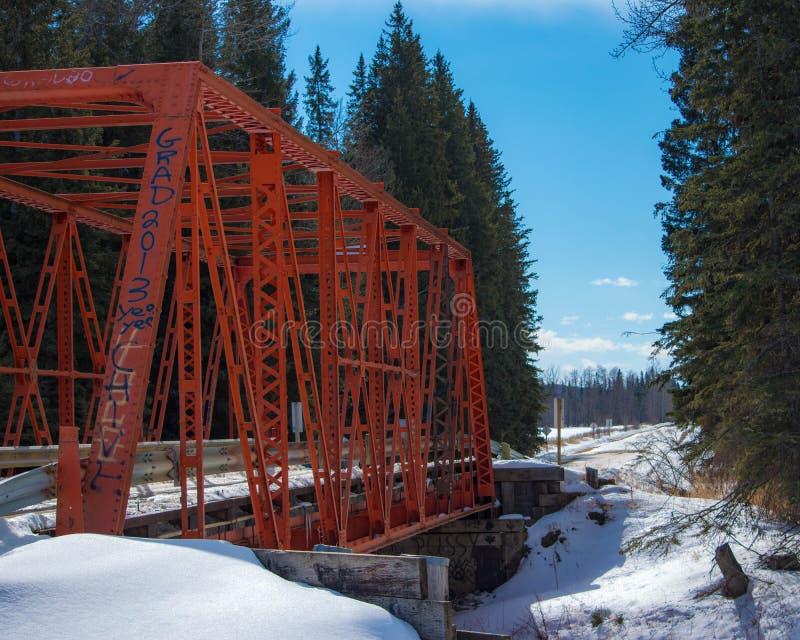Ponte di Keivisville fotografia stock