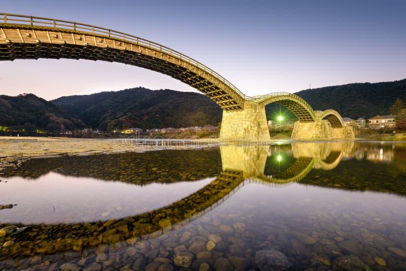 Ponte di Kintai immagine stock libera da diritti