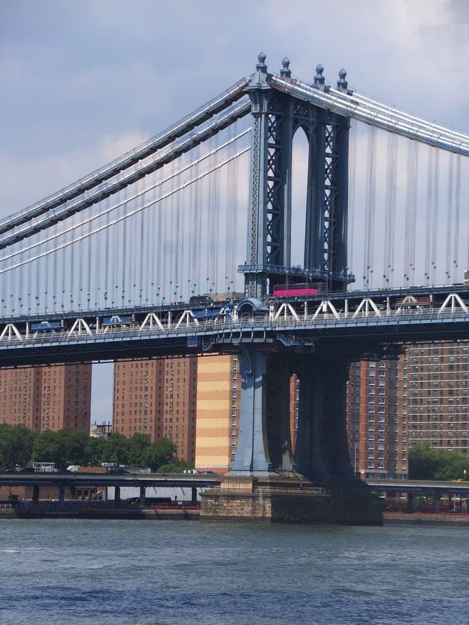 Ponte di manhattan a new york fotografia stock immagine for New york architettura